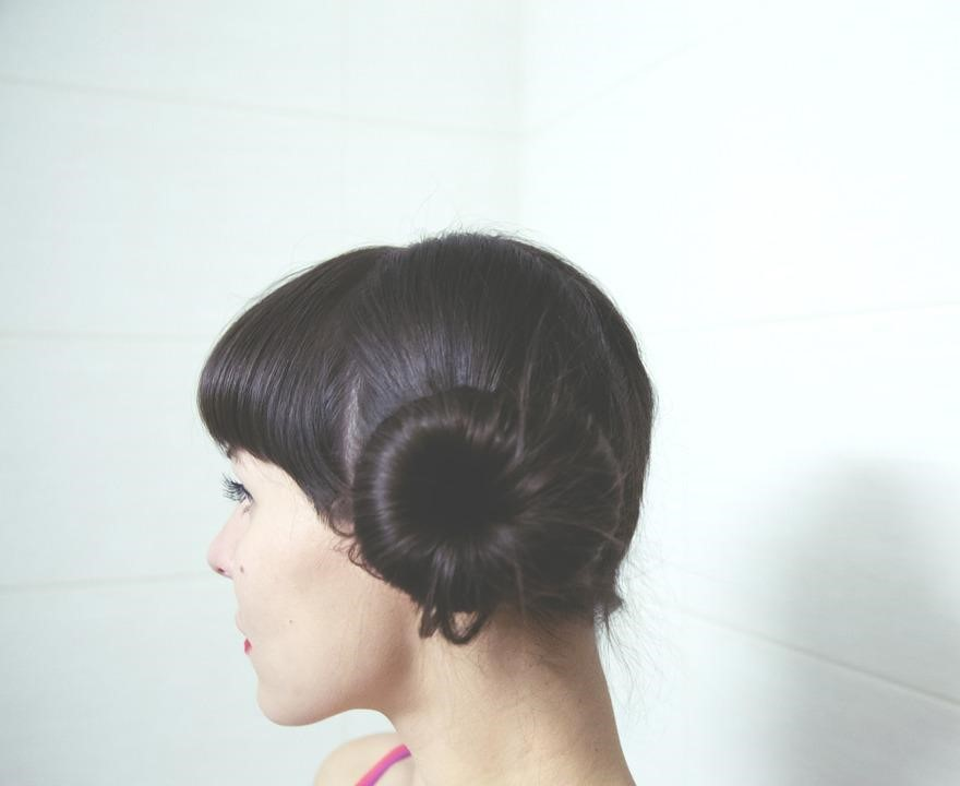 the chic side-knot
