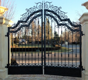 Iron Entry Gate